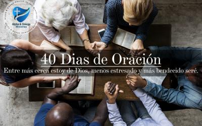 40 DÍAS DE ORACIÓN