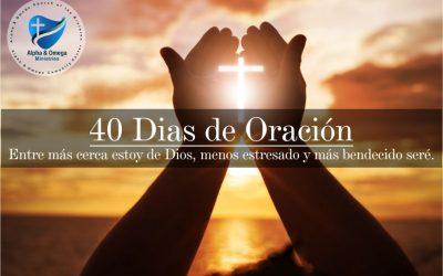 Escucha – 40 días de oración