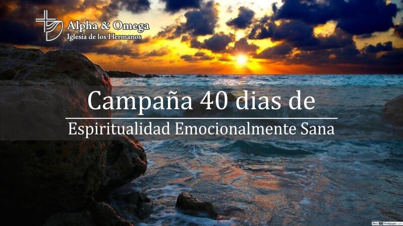 Escucha – 40 días de oración Espiritualidad Emocionalmente Sana